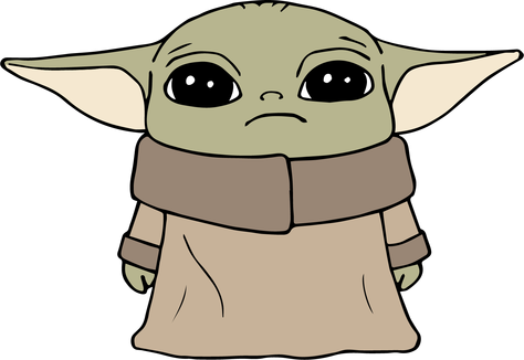 Download Baby Yoda | The Craft Chop